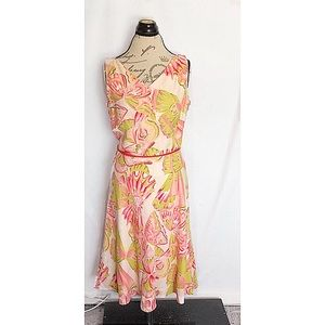 Adrianna Pappel Dress Size 10 Floral Sleeveless